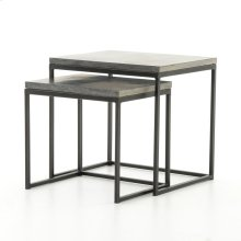 Bluestone Finish Harlow Nesting End Tables