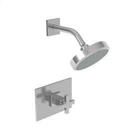 Stainless Steel - PVD Balanced Pressure Shower Trim Set