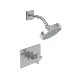 French Gold - PVD Balanced Pressure Shower Trim Set