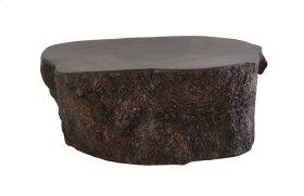 Bark Coffee Table Bronze