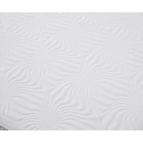 Ian White 12-inch Eastern King Memory Foam Mattress