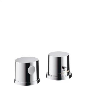 Chrome Trim, 2-Hole Thermostatic Roman Tub Set Product Image