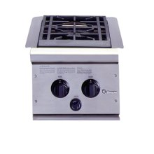 GE Monogram® Dual Burner Outdoor Cooktop (Liquid Propane)
