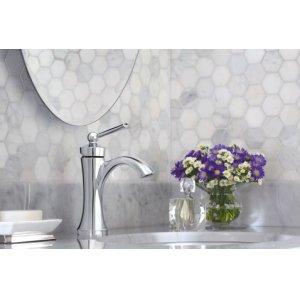 Wynford polished nickel one-handle bathroom faucet