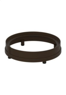 Round Fire Pit Riser, Dining Height