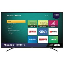 "65"" Class - R6 Series - 2018 - 4K UHD Hisense Roku TV with HDR (64.5"" diag)"