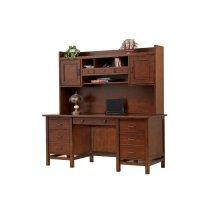 """66"""" Flattop Desk $999.00 and 63"""" Hutch $549.00"""