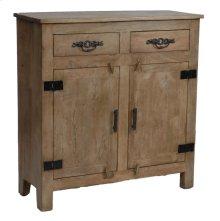 Bengal Manor Mango Wood Grey Cabinet