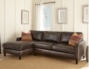 """Anguilla Left Arm Chaise, 37""""x 64""""x36"""" w/one Accent Pillows Product Image"""