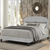 Desi Bed In One - Full - Glacier Gray Fabric
