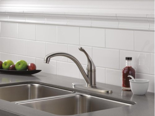 Stainless Single Handle Kitchen Faucet