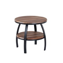 Emerald Home Carson Round End Table-t226-01