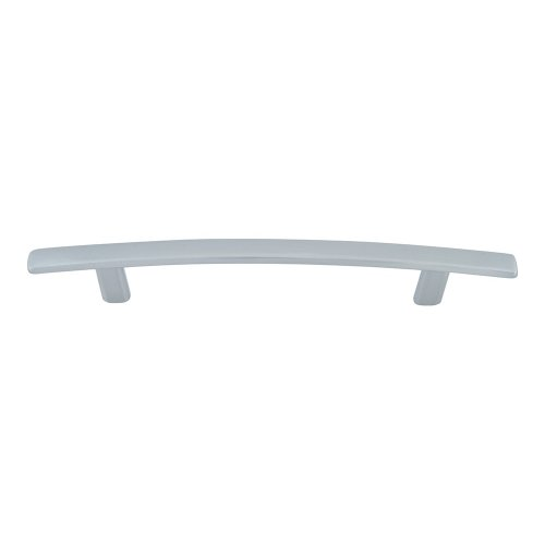 Curved Line Pull 5 1/16 Inch (c-c) - Brushed Nickel