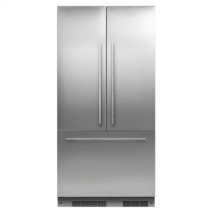 Fisher & PaykelIntegrated French Door Refrigerator 16.8cu ft, Ice