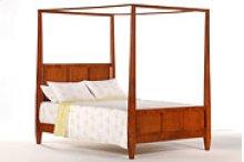 Laurel Bed in Cherry Finish