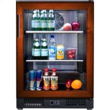 Undercounter Refrigerator - Glass Overlay Model
