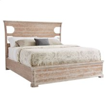 Juniper Dell Panel Bed King in English Clay