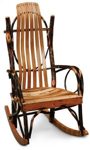 Hickory Hollow Bentwood Rocker, Large Size Product Image