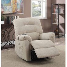 Taupe Power Lift Recliner
