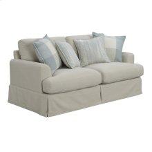 Loveseat W/4 Accent Pillows-tan #hrw1651-5
