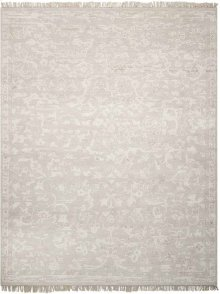 Elan Eln03 Silver Rectangle Rug 7'9'' X 9'9''
