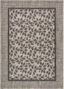 Country Side Ctr01 Ivory/charcoal Rectangle Rug 5'3'' X 7'3''