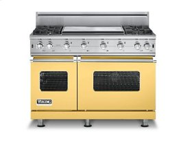 "48"" Custom Sealed Burner Range, Propane Gas, No Brass Accent"