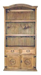 Bookcase W/2dr 2 Dwr W/stars Product Image