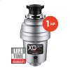 1 HP Lifetime Warranty, Continuous Feed waste disposer