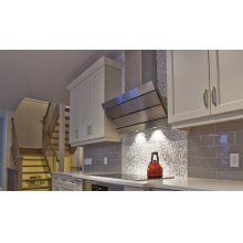 "36"" Orizzonte-Wall Hood w/600 cfm Blower"