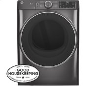 7.8 cu. ft. Capacity Smart Front Load Electric Dryer with Sanitize Cycle