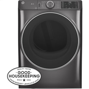 GE®7.8 cu. ft. Capacity Smart Front Load Electric Dryer with Sanitize Cycle