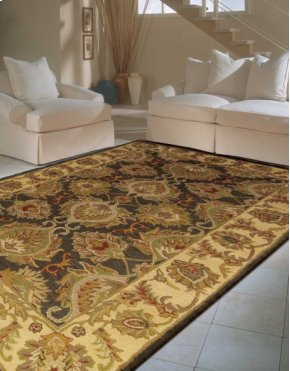 INDIA HOUSE IH59 GRE RECTANGLE RUG 3'6'' x 5'6''