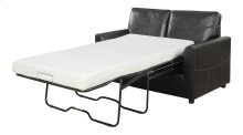 Sofa W/full 4/6 Mechanism (no Mattress) Black Pu
