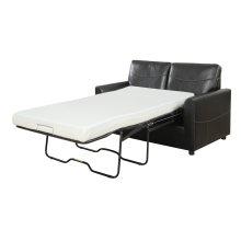 Sofa W/full 4/6 Mechanism (no Mattress) Black Pu
