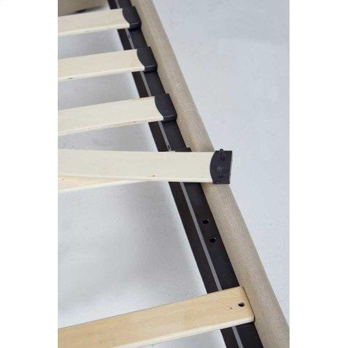KEN50TBL Kenora Platform Bed - Queen, Black