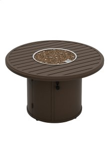 """Banchetto 42"""" Round Fire Pit, Built-In Ignitor"""