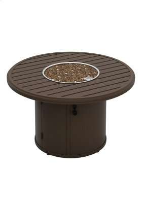 """Banchetto 42"""" Round Fire Pit, Manual Ignition"""