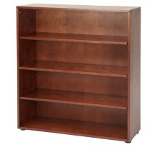 4 Shelf Bookcase : Chestnut
