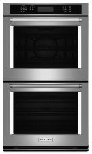 """30"""" Double Wall Oven with Even-Heat True Convection (Upper Oven) - Stainless Steel Product Image"""