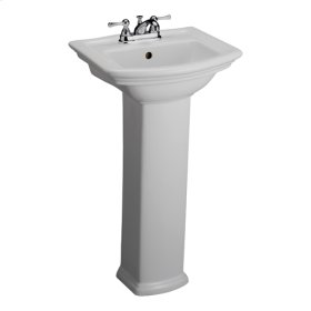 Washington 460 Pedestal Lavatory - White