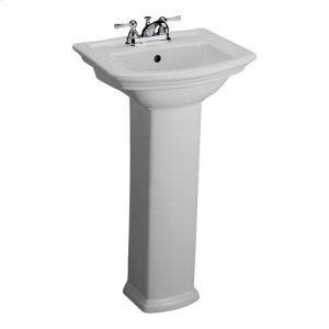 Washington 460 Pedestal Lavatory - White Product Image