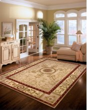 VERSAILLES PALACE VP04 BGE RECTANGLE RUG 27'' x 18''