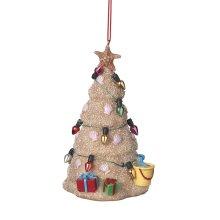 Sand Christmas Tree Ornament.