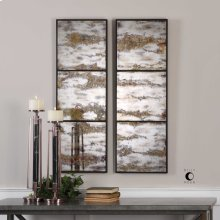 Rahila Mirrored Wall Panels, S/2