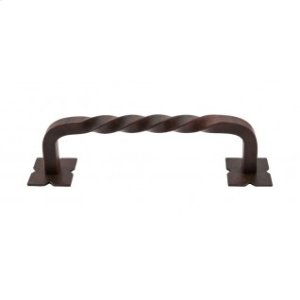 Twist Appliance Pull 8 Inch (c-c) - Patina Rouge