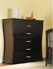 Trieste 5 Drawer Dresser