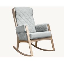 Margot - Light Grey and Natural Glider