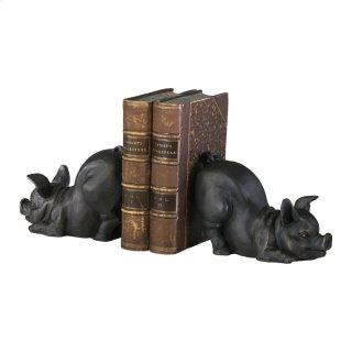 Piggy Bookends 2pcs.