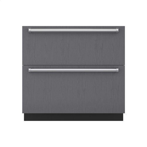 "36"" Refrigerator Drawers - Panel Ready"
